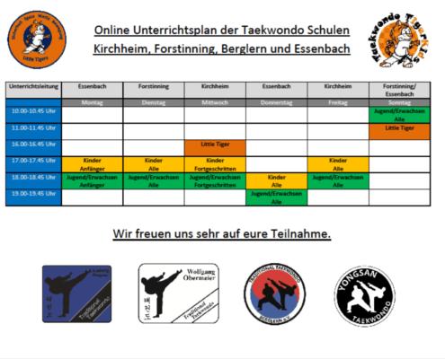 Online Trainingsplan